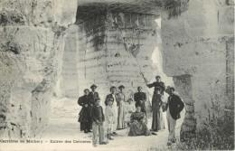 89 CARRIERES DE MICHERY - ENTREE DES CARRIERES ( ANIMEE ) - Frankreich