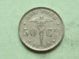 1930 FR - 50 CENT ( Morin 417 ) Zie Foto´s Voor Détail ! - 1909-1934: Albert I