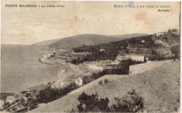 Imperia Porto Maurizio Costa D'oro Poesia Ariosto - Imperia