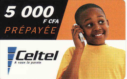 Burkina Faso, Celtel 5000 F CFA - Burkina Faso