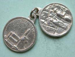 ISRAEL Jerusalem ( Western Wall / Klaagmuur ) Silver ( 935 ) 20.1 Gr. / 25 Mm. ( For Grade, Please See Photo ) !! - Non Classés