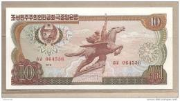 Corea Del Nord - Banconota Non Circolata Da 10 Won - 1978 - Corea Del Nord
