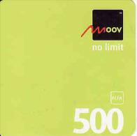 Togo MOOV 500 FCFA Recharge Carte - Togo