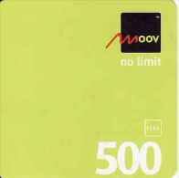 Togo MOOV 500 FCFA Recharge Carte