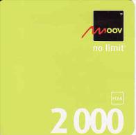 Togo MOOV 2000 FCFA Recharge Carte - Togo