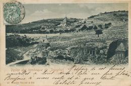 Jerusalem Vallée Des Tombeaux De Josaphat No 49 Dimitri Tarazzi Turquie Turkey - Palestine