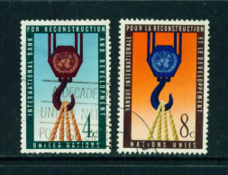 UNITED NATIONS (NEW YORK) - 1960 World Bank Used As Scan - Non Classificati