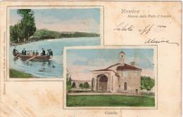 Biella Viverone Ricordo Della Festa D'Anzasco, Vedute: Cappella E Lago - Biella