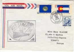 USA   1976 .  USS SARGO SSN 583 ;  Used Cover - Submarines
