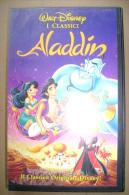 PBT/59  VHS Orig. Walt Disney  ALLADIN Ed.1994/ Cartoni Animati - Cartoni Animati