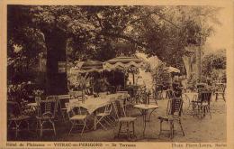 Hôtel De Plaisance VITRAC EN PERIGORD Sa Terrasse - Andere Gemeenten