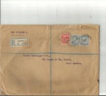 CARTA CIRCULADA  SEND POST AÑO 1914 TBE OHL - 1902-1951 (Könige)