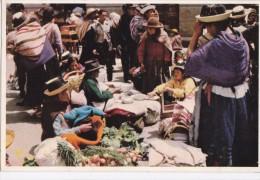 PERU - HUANCAY - MARKET SCENE - Peru