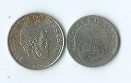 Monnaie Magyar Kiralysag 20 Filler 5 Forint - Hungría