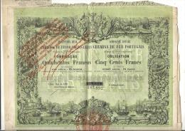 CH DE FER PORTUGAIS - Chemin De Fer & Tramway