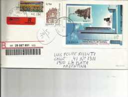 CARTA CIRCULADA  SEND POST  TBE OHL - 2001-10 Lettres