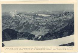 73/CPA - Vue Prise De L'Auberge De Tete Rousse - France