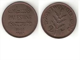 *palestina 2 Mils1941 Km 2  Xf !!!!! - Autres – Asie