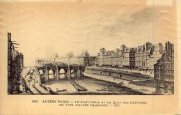 ANCIEN PARIS Le Pont Neuf Et Le Quai Des Orfèvres En 1789 D'après Raguenet - Sin Clasificación