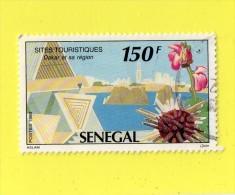 "SENEGAL  """"  150  F. """"  DAKAR ET SA REGION ,, SITE TOURISTIQUE ,, 1992,, TBE - Senegal (1960-...)"