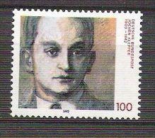 RFA -  1992 - YT N°1475 - Jochen Klepper, écrivain - [7] Federal Republic