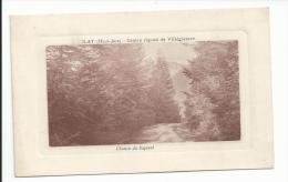 ILAY (39) Haut Jura Chemin Du Sapinet - France