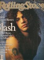 Rolling Stone N° 596 - Version Anglaise - Année 1991 - Slash - Frank Sinatra - The Black Crowes - Rugby - Bon état - Revues & Journaux