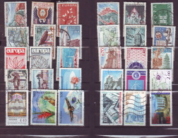 Lot  Of 30 France Used Stamps Different , Timbres - Collections