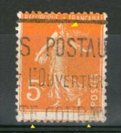 N° 158°_Surencrage + Piquage à Cheval_signatures Incomplètes - Abarten: 1900-20 Gebraucht