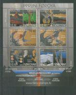 FAROE ISLES 2009 GEOLOGY BLOCK MNH** - Isole Faroer