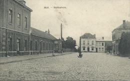 Mol - Statieplaats + Statie - 1909 ( Verso Zien ) - Mol