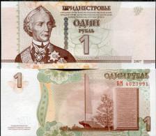 TRANSNISTRIA 1 RUBLES 2007 2013 P NEW - Moldavia