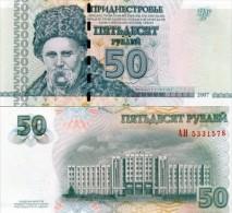 TRANSNISTRIA 50 RUBLE 2007 P-46 UNC - Moldavia