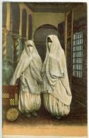 Algérie  Scènes Et Types  Femmes  Mauresques Voilées  CPA  BE - Algeria