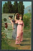 Art J.C. Robert Kämmerer Greek Ladies At Fountain - Paintings
