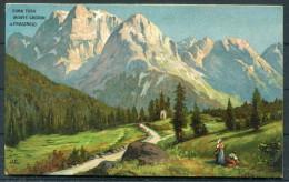Art J.C. Robert Kämmerer - Cima Tosa Monte Crozon - Paintings