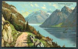 Art J.C. Robert Kämmerer - Norway Telemarken Bandakvand Fra Dalen - Paintings