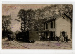 02-2753 CRAONNE Gare Train C.B.R Ligne Corbeny à Reims - Craonne