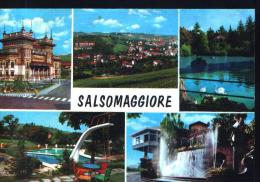 Salsomaggiore Terme - Multivedute - V 1980 - Parma