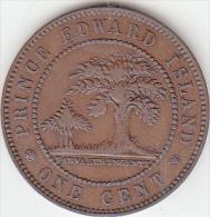 Isle Prince Edward 1  Cent Canada 1871 Bb+ - Regional Coins