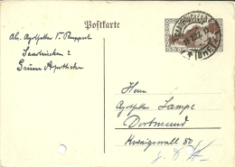 Saargebiet Saarbrücken 1927 >> Dortmund Deutschland - Ohne Zuordnung