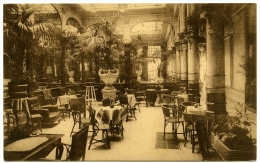 BELGIQUE : BRUXELLES - HOTEL DES COLONIES, RUE DES CROISADES, JARDIN D'HIVER - Cafés, Hôtels, Restaurants
