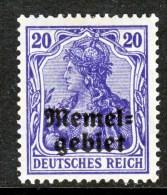 Memel  5  * - Memel (1920-1924)