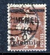 Memel  22  (o) - Memel (1920-1924)