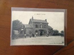 59.21  NORD  /  BRUAY  /  La Gare Animées Avec Chariot , Caleche - Bruay Sur Escaut