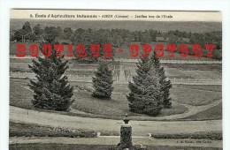 ACHAT IMMEDIAT < ECOLE D´AGRICULTURE DEFUMADE < Les Jardins - Jardin Garden - Parc Park - Dos Scanné - Agricoltura