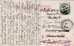 POSTAL HISTORY -1906 SINGLE CIRCLE CANCELLATION  -ROTHBURY - Poststempel