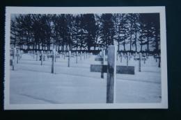 5247b/ FOY/RECOGNE-Bastogne, Cimetière Militaire (2 Cartes) - War 1939-45