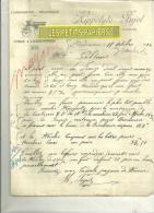 12 - Aveyron - SAINT-JEAN-DU-BRUEL - Facture PUJOL- Carrosserie - 1924 - 1900 – 1949