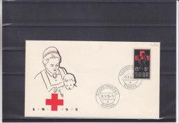 Croix Rouge - Sarre - Document De 1955 - Infirmières - Cruz Roja